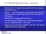 y1 2 mixed age planning process