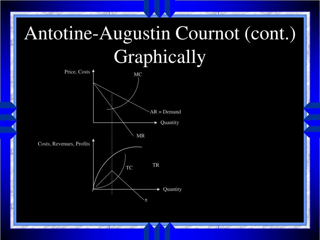 Antotine-Augustin Cournot (cont.)