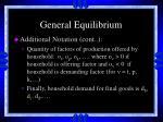 general equilibrium21