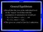 general equilibrium26
