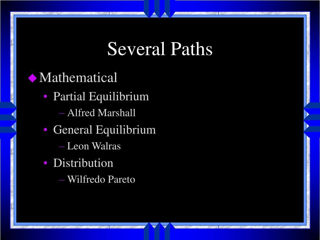 Several Paths