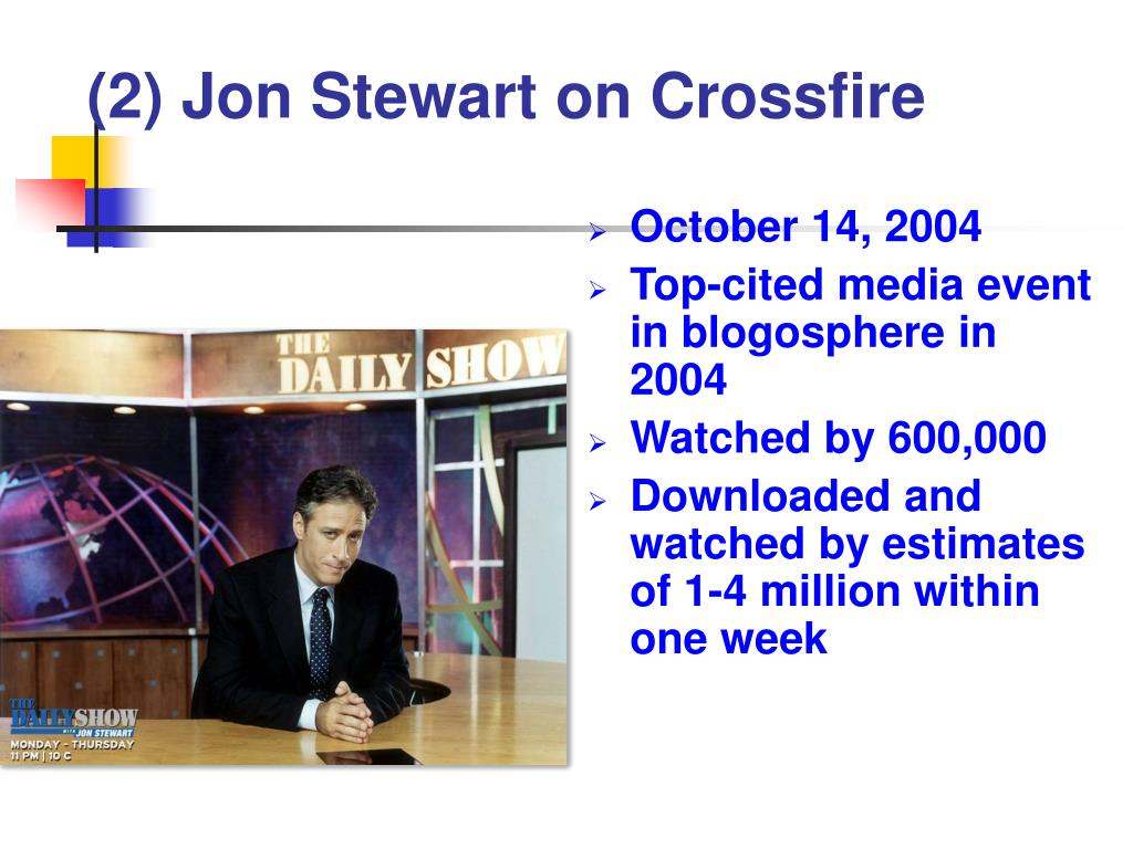 (2) Jon Stewart on Crossfire