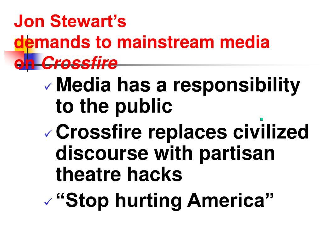 Jon Stewart's