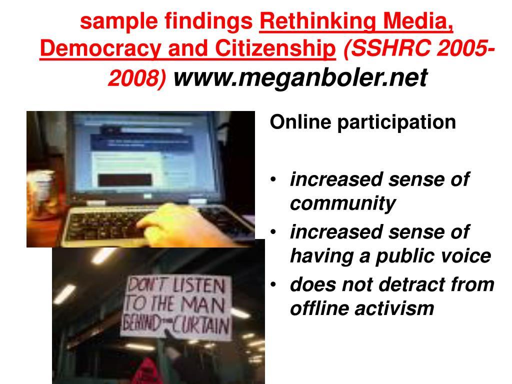 sample findings