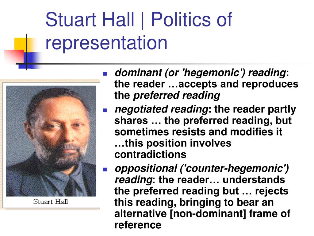 Stuart Hall | Politics of representation