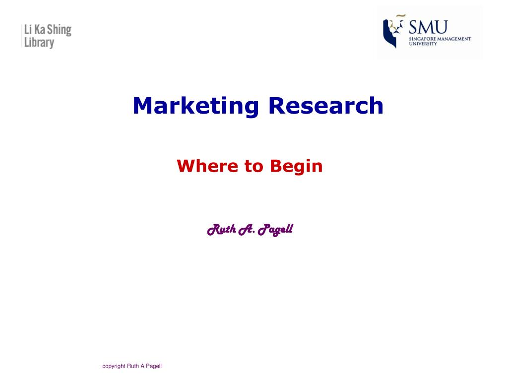 Marketing Research