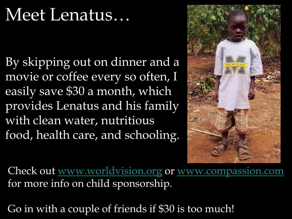 Meet Lenatus…