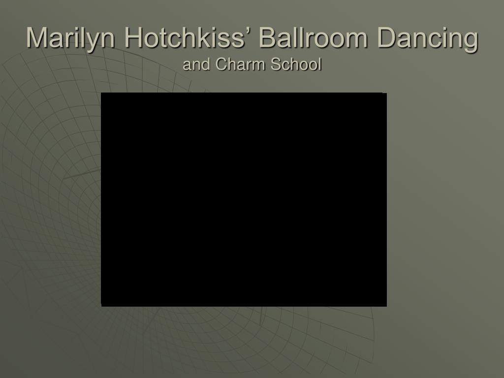 Marilyn Hotchkiss' Ballroom Dancing