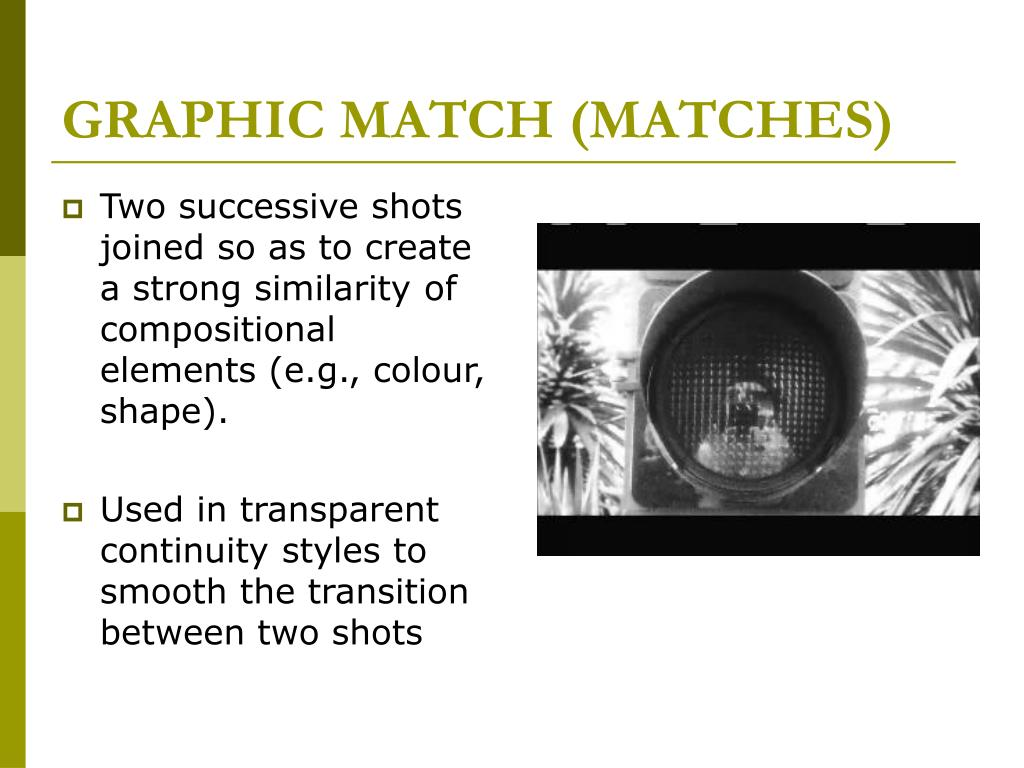 GRAPHIC MATCH (MATCHES)