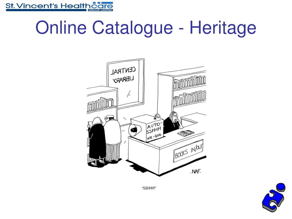 Online Catalogue - Heritage