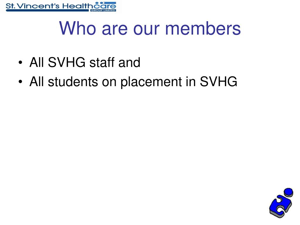 Who are our members