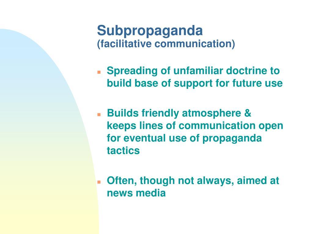 Subpropaganda