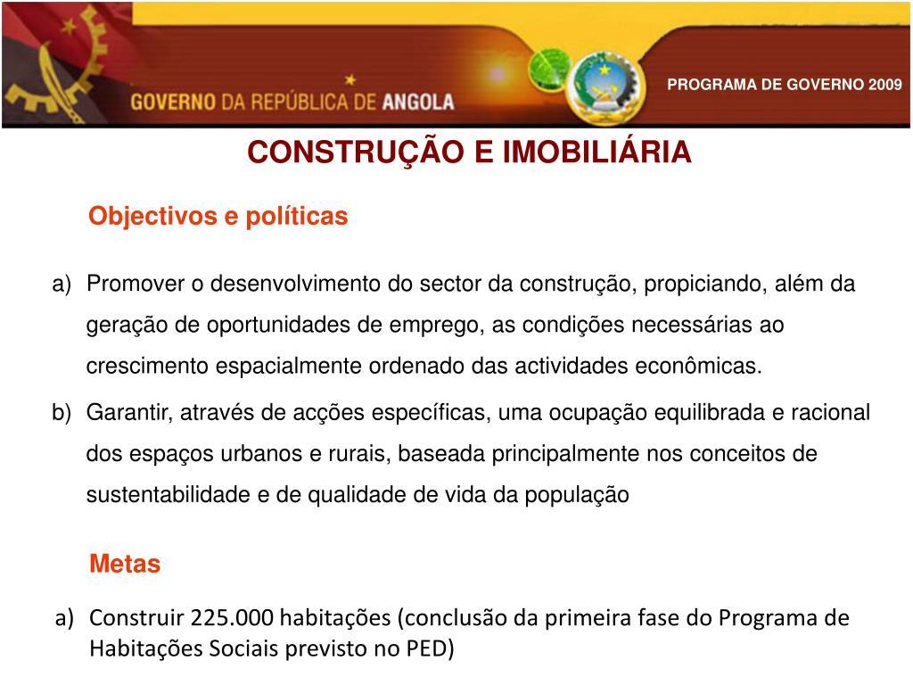 CONSTRUÇÃO E IMOBILIÁRIA