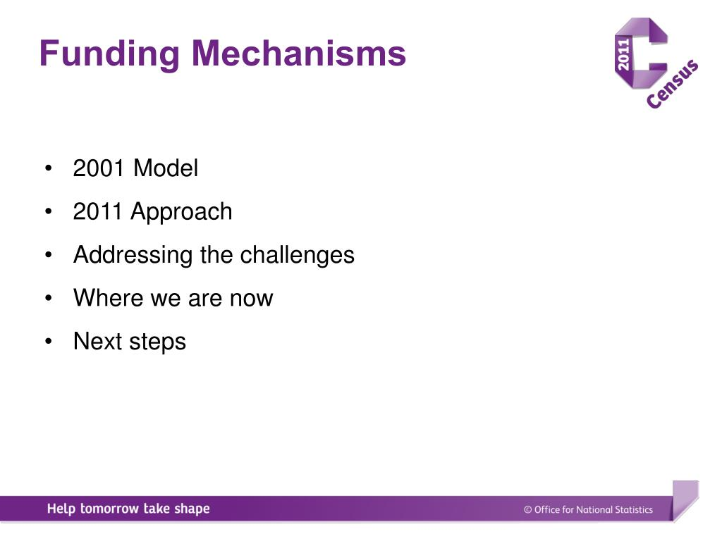 Funding Mechanisms