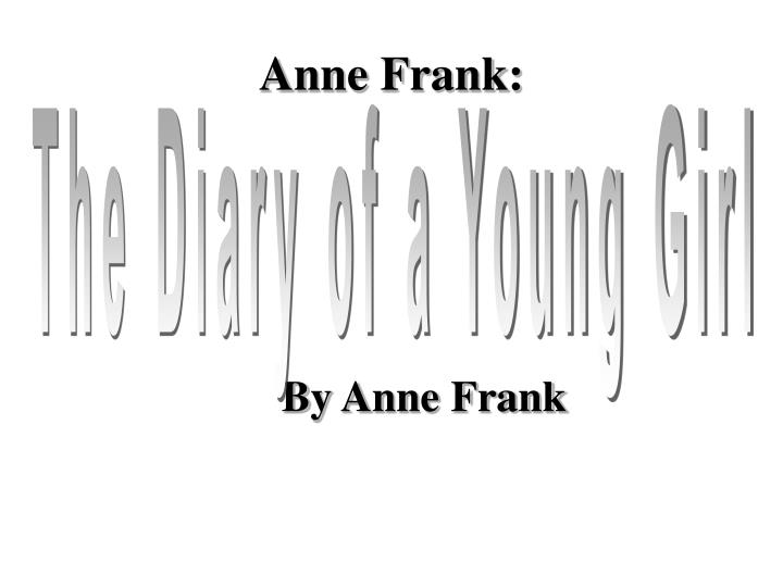 By anne frank