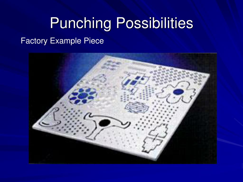 Punching Possibilities
