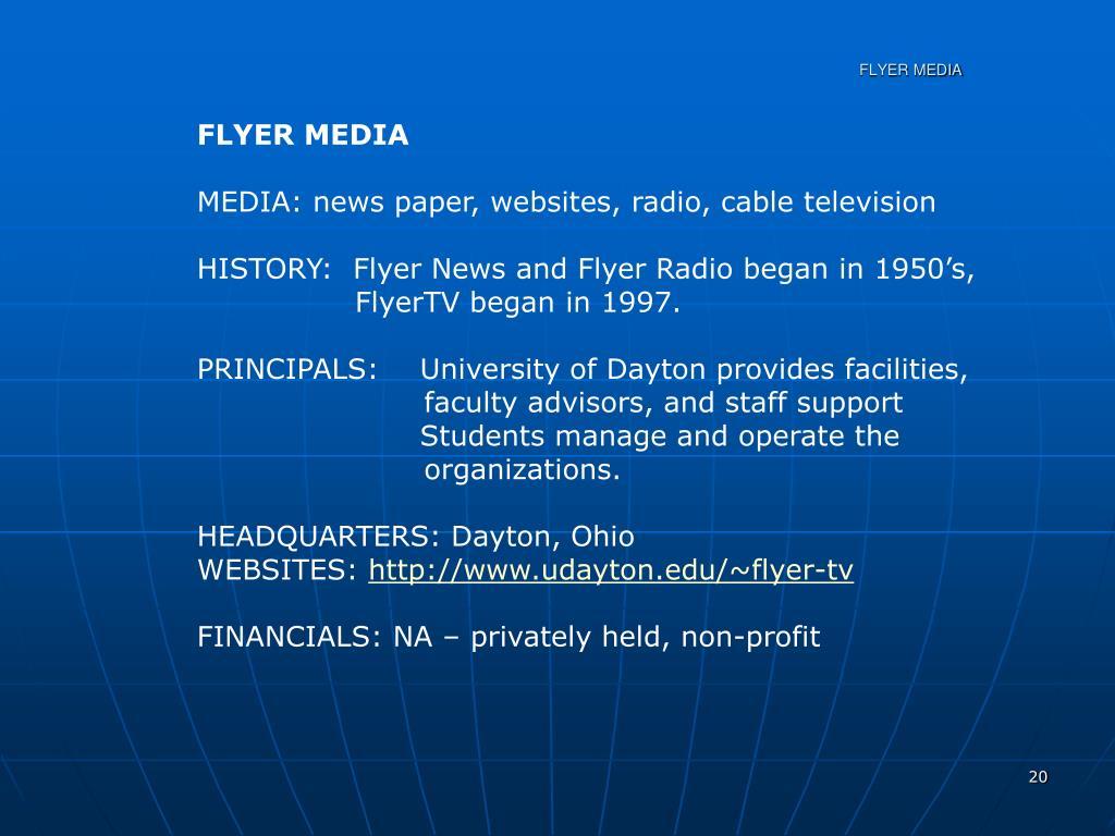 FLYER MEDIA