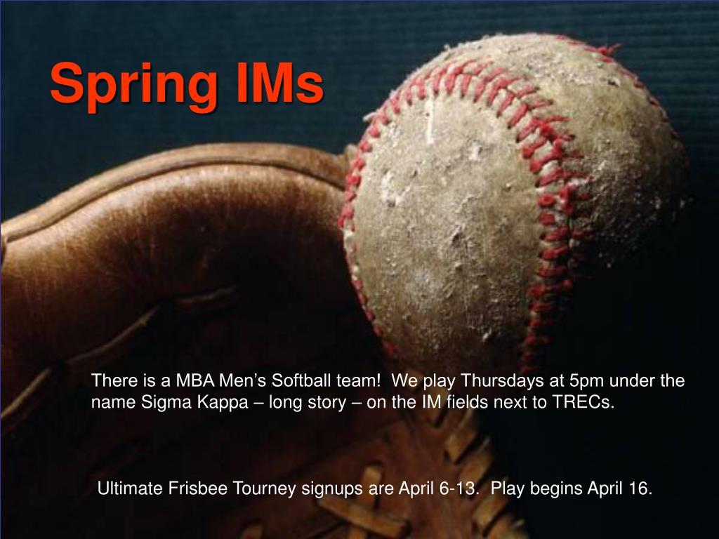 Spring IMs