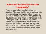 how does it compare to other treatments