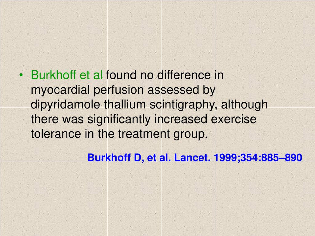 Burkhoff et al