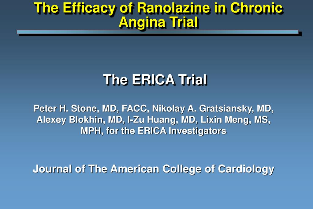 the erica trial