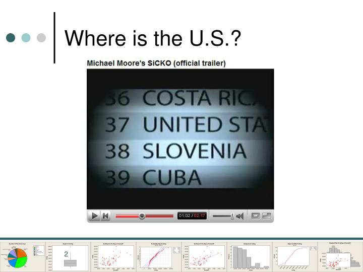 Where is the u s