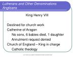 lutherans and other denominations anglicans4