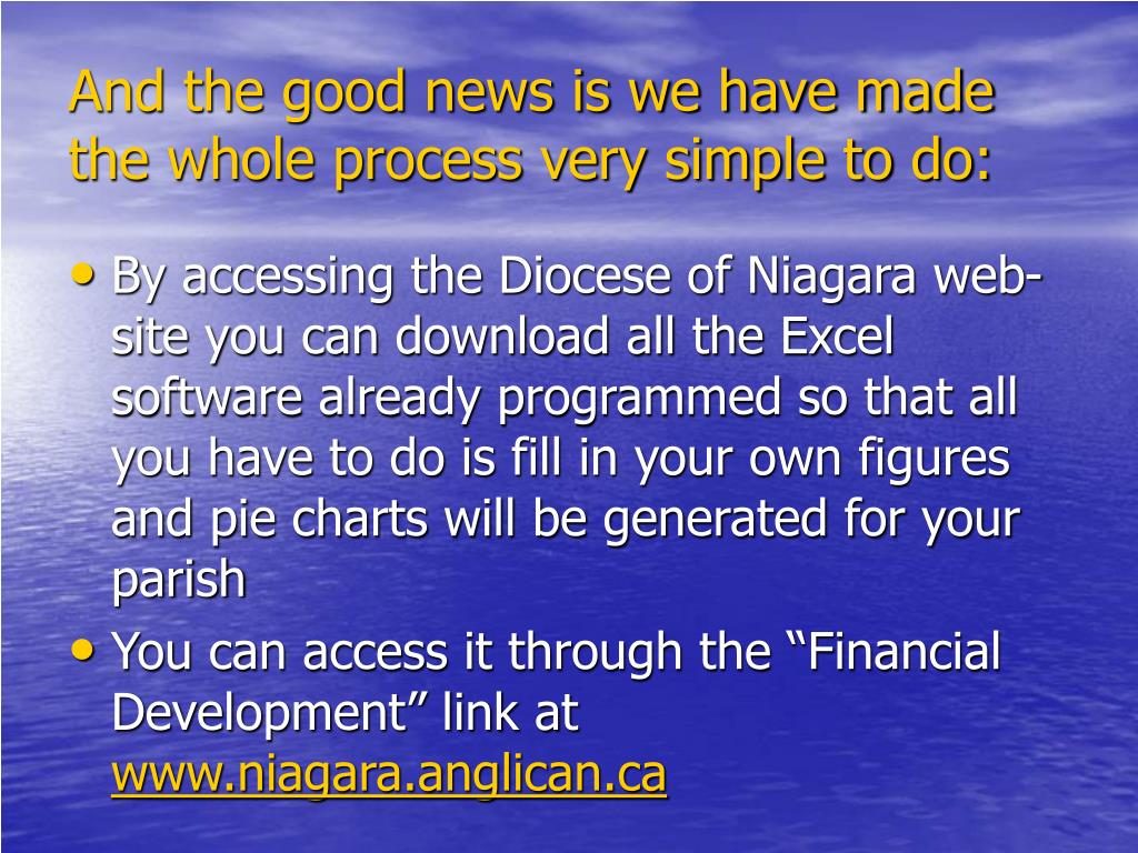 And the good news is we have made the whole process very simple to do: