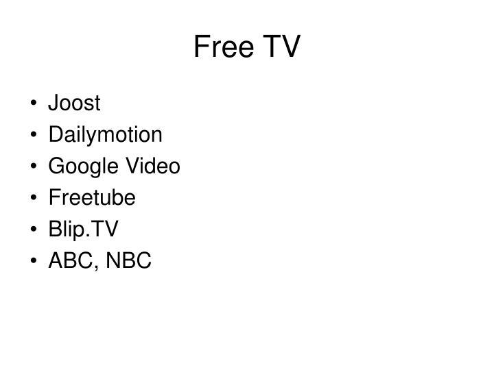 Free TV