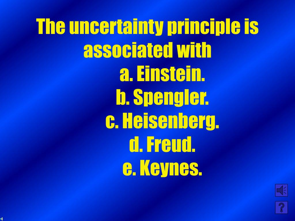 The uncertainty principle is associated with