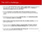 the ajc s challenge