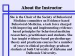 about the instructor2