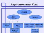 anger assessment cont