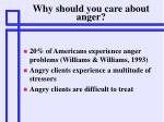 why should you care about anger