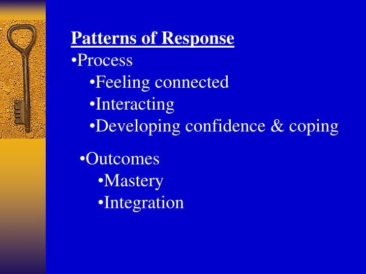 Patterns of Response