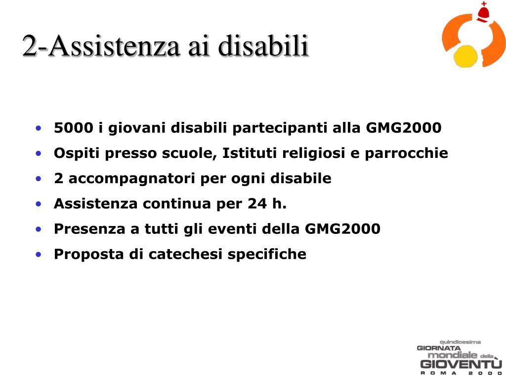 2-Assistenza ai disabili