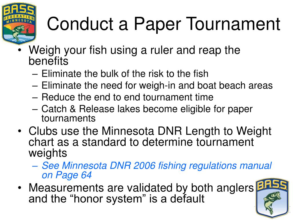 Conduct a Paper Tournament