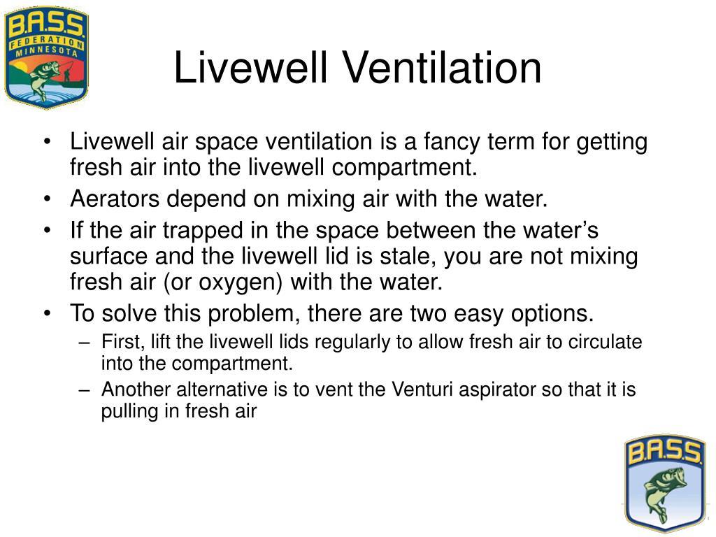 Livewell Ventilation