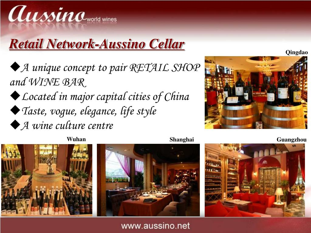 Retail Network-Aussino Cellar