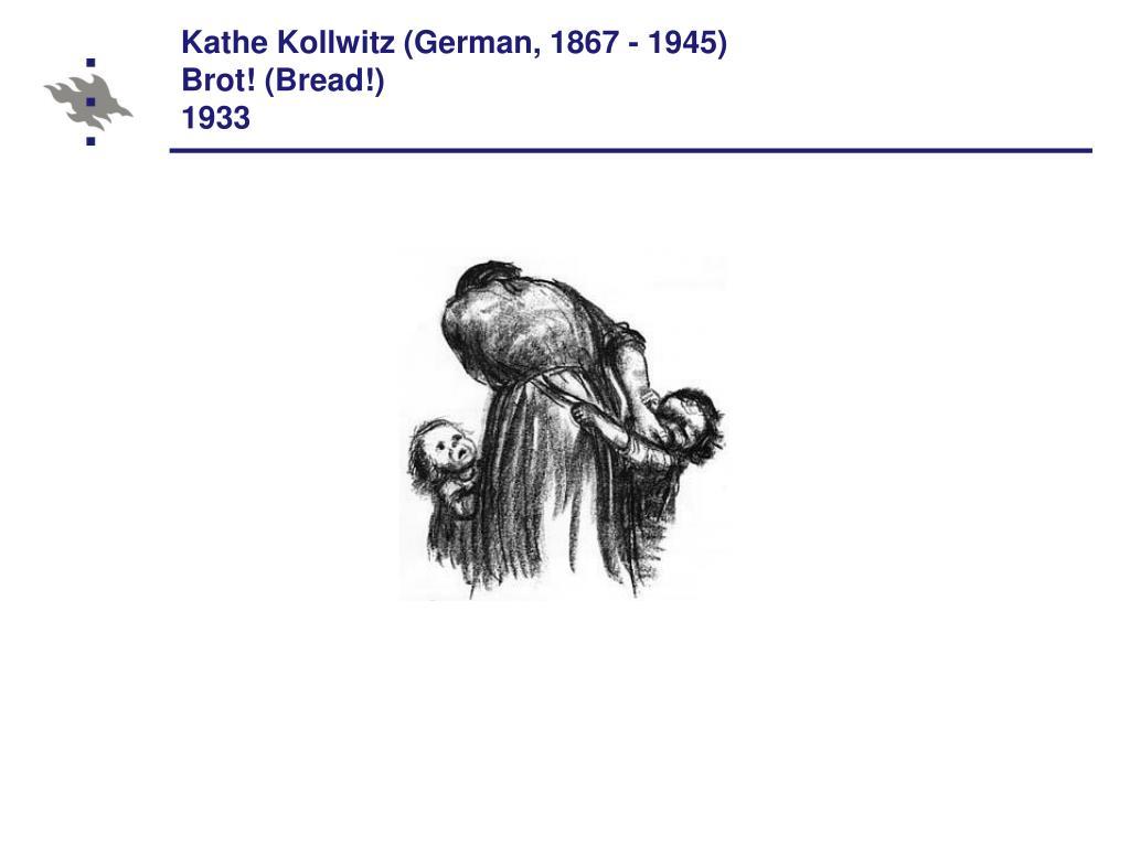 Kathe Kollwitz (German, 1867 - 1945)