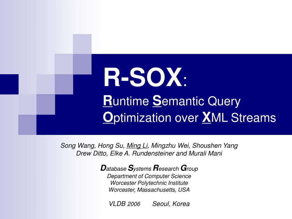 R-SOX