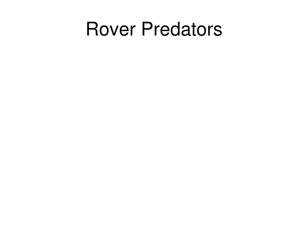 Rover Predators
