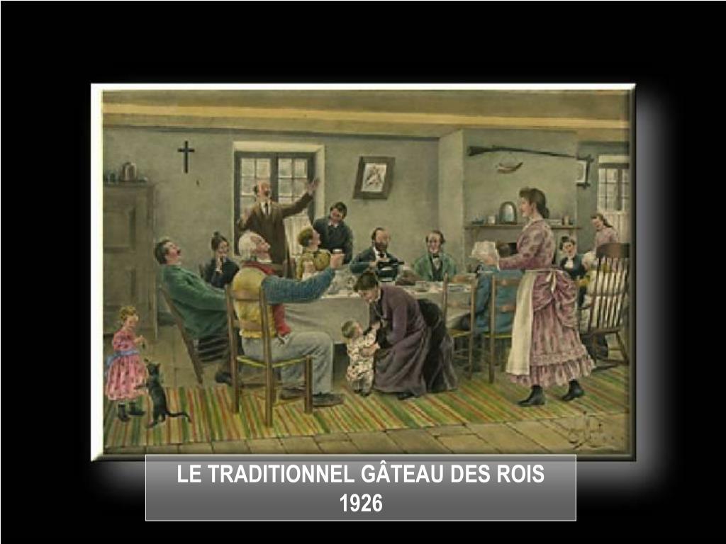 LE TRADITIONNEL GÂTEAU DES ROIS