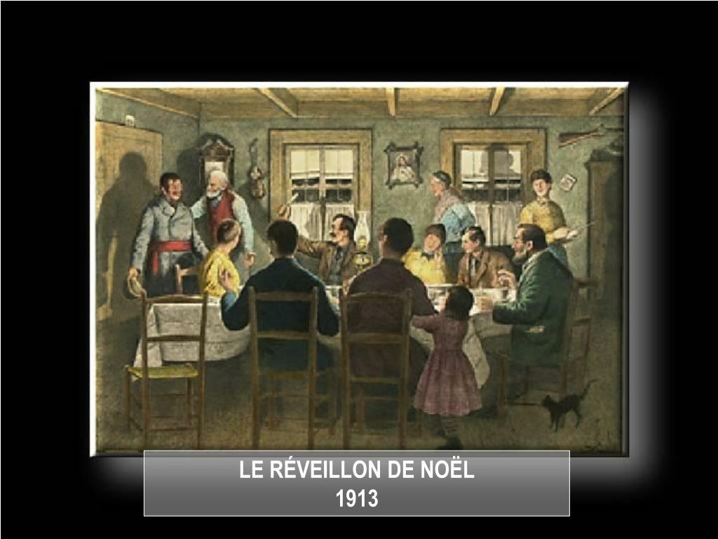 LE RÉVEILLON DE NOËL