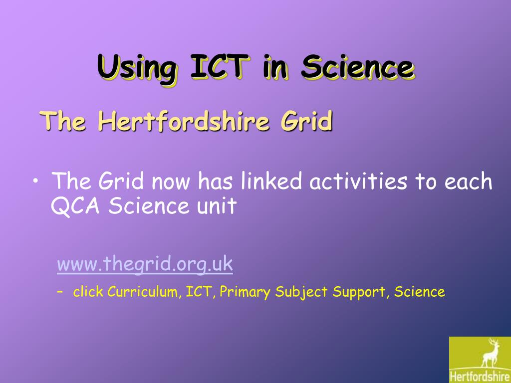Using ICT in Science