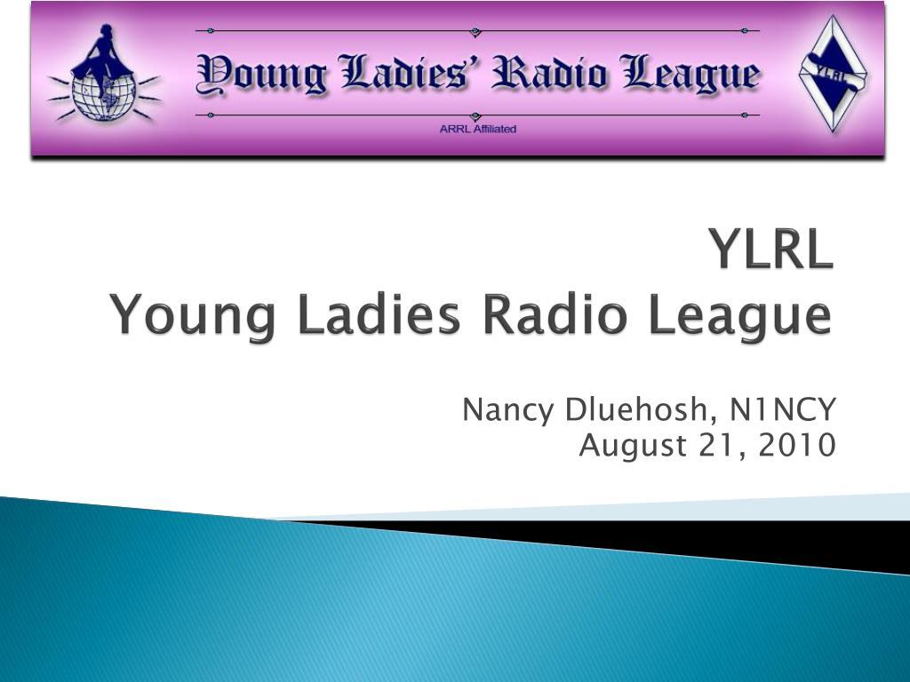 ylrl young ladies radio league