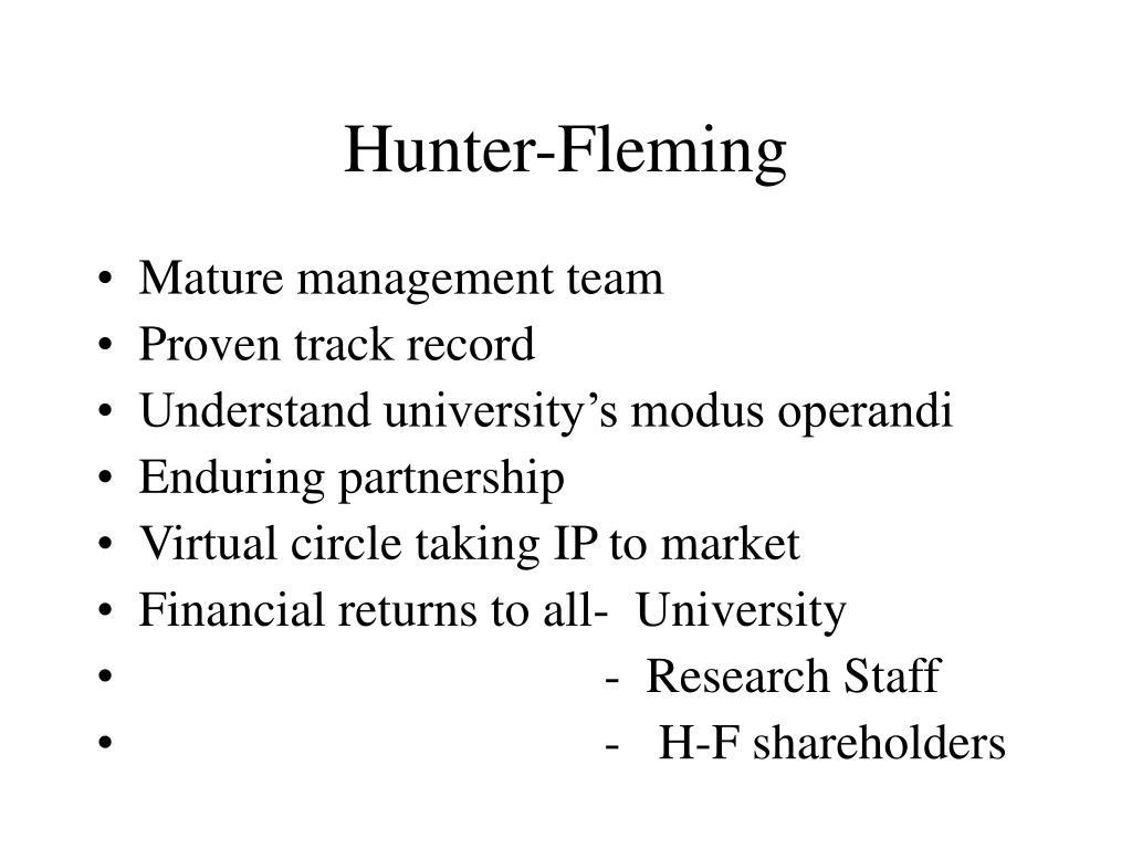 Hunter-Fleming
