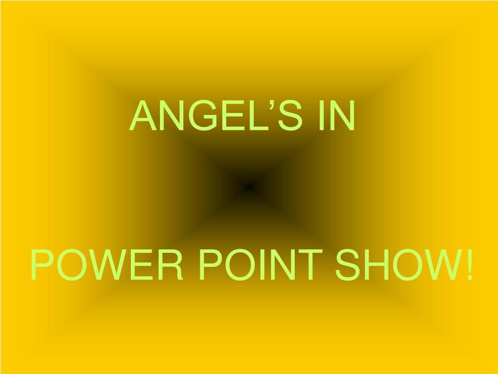 ANGEL'S IN