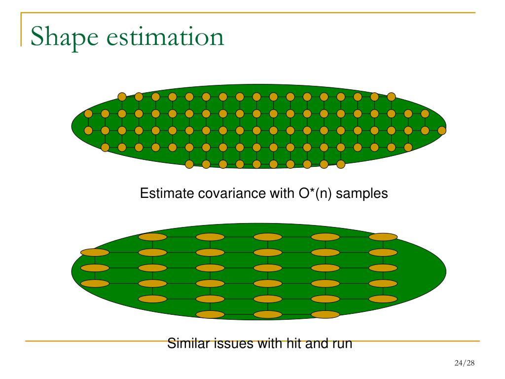 Shape estimation
