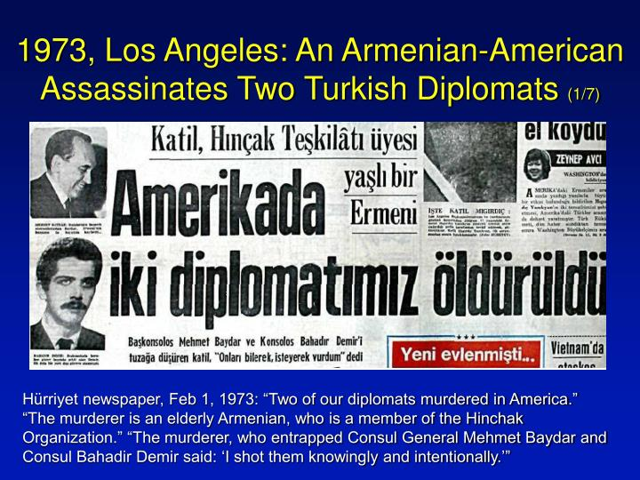 1973 los angeles an armenian american assassinates two turkish diplomats 1 7